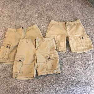 Men's cargo shorts (Lot of 3)